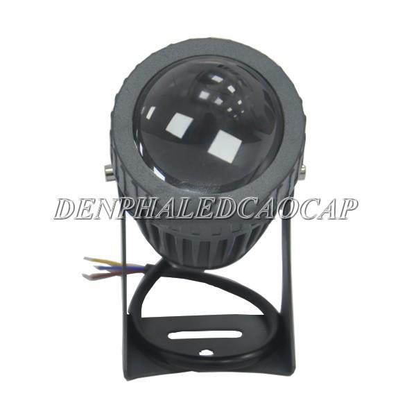Chip LED phía sau thấu kính dày của đèn pha LED F81-15