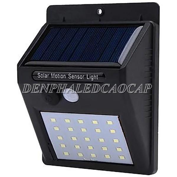 Đèn pha LED năng lượng mặt trời cảm biến