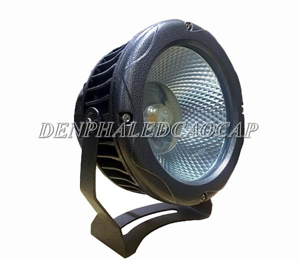 Đèn pha LED ngoài trời 30W tròn