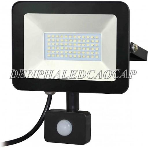 Đèn pha LED cảm ứng chống trộm màu vàng