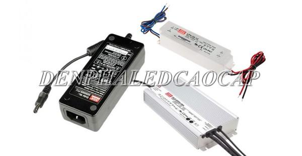 Nguồn LED có nhiều mức điện áp để phù hợp với đèn