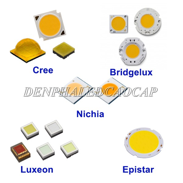 Sử dụng chip LED từ những thương hiệu nổi tiếng