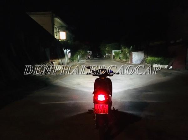 Đèn LED sáng nhất cho xe máy