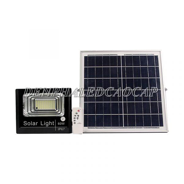 Đèn pha năng lượng mặt trời Solar Light 60W IP67