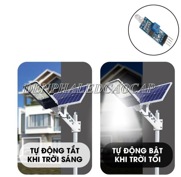 Đèn pha LED đường phố 300W năng lượng mặt trời