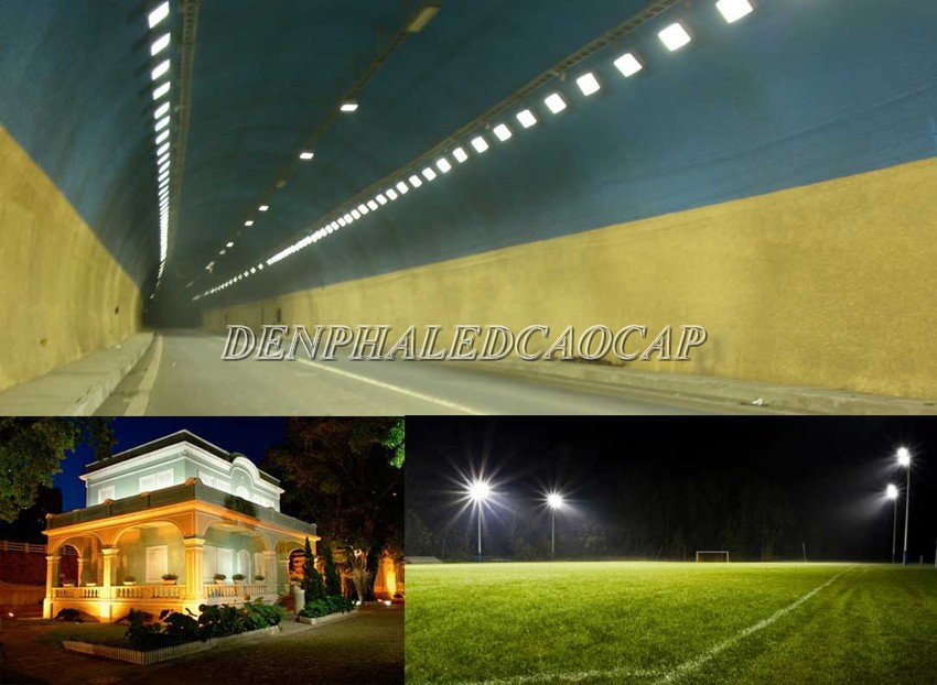 Ứng dụng đèn pha LED 400W trong đời sống